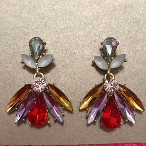 Jewelry - Colorful Starburst Earrings